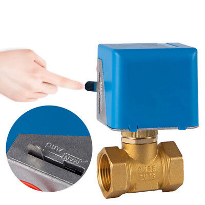 Electric Valve AC220V Normally Closed Shut-off Two-way Brand New Nobby Modern