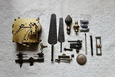 Job Lot Of Clock Parts-Movement And Clock Makers Tools Westminster Chimes