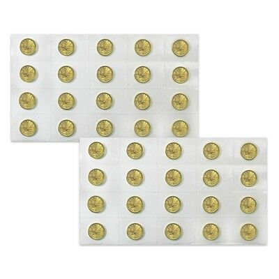 Lot of 40 - 2019 1/4 oz Canadian Gold Maple Leaf $10 Coin .9999 Fine BU (Sealed)