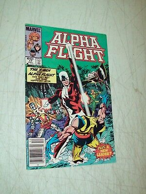 Marvel Comics Alpha Flight #17 Dec 1984 the X-Men & Alpha Flight FN/VF