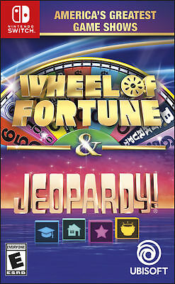 America's Greatest Game Shows: Wheel of Fortune & Jeopardy! - Nintendo Switch St