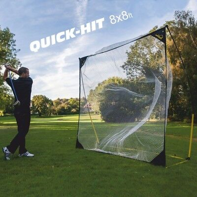 Quick Hit - Golfnetz / Schlagnetz / Baseball Hitting Net (2,4x2,4m)