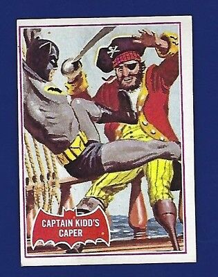 1966 Topps Red Batman Card #32A Ex Shipping  .50 Cents