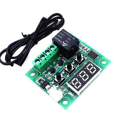 LED Digital Thermostat Temperature Control Thermometer Thermo Controller Switch
