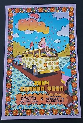 The Dead Poster Alpine Valley And Deer Creek July 2004 Dead & Company