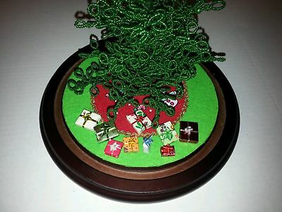For Westrim Beaded Mini Christmas Tree Miniature Presents/Gift boxes Set of 9