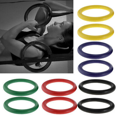 Gymnastic Fitness Rings Yoga Gym Strength Cross Training Pull-ups Muscle-ups