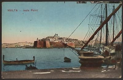 Malta - Isola Point - c1920 Bedruckt Postkarte