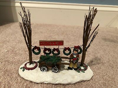 Santa's Workbench Accessory-Wreath Seller