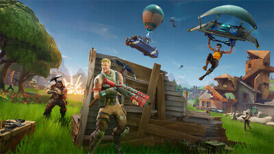 Fortnite Game Character Wallpaper Poster Prints 12x21 17x30inch