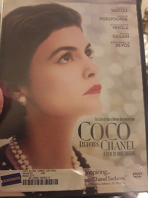 Coco Before Chanel DVD Pg13 - FREE Shipping