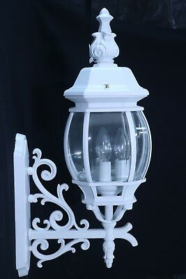 3-Light Up-Lighting Outdoor Wall Sconce