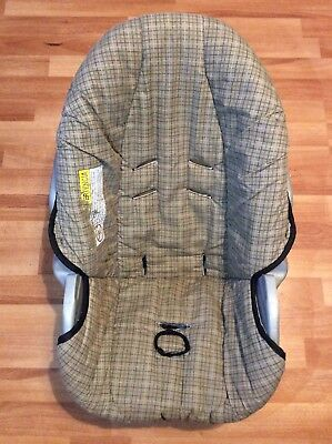 Graco 20 22 SnugRide Baby Car Seat Cushion Cover Part Replacement Brown Black