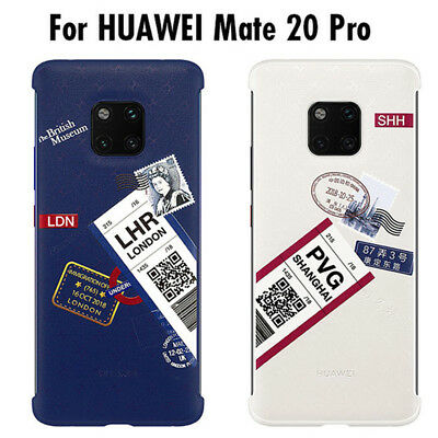 Original Travel Theme Back Case Protector Cover For Huawei Mate20 / Mate 20 Pro