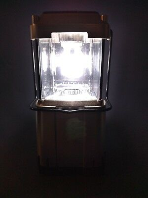 COLEMAN 5317 SERIES Collapsible Battery Powered Camp Lantern TESTED & WORKS