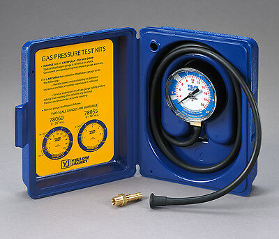 "Ritchie Yellow Jacket 78060 Gas Pressure Test Kit - 0-35"" W.C."