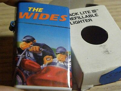 """Beautiful CAMEL """"WIDES"""" ADV. LIGHTER~NEW OLD STOCK! Mint In Box!"""