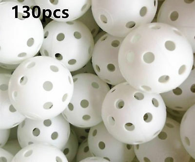 A99 Golf Air Flow Ball Practice Ball Training Aid White or Yellow