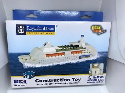 NEW RCCL Construction Toy Cruise Ship NOT LEGO Official Royal Caribbean Item