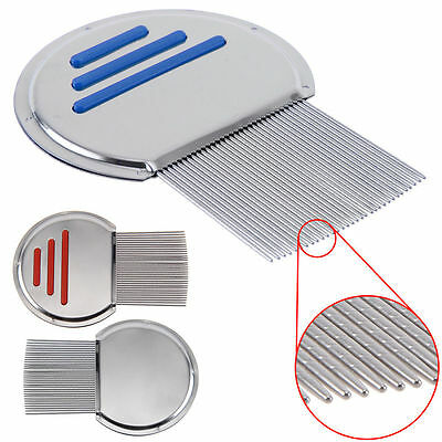 Lice Nit Comb Get Down To Nitty Gritty Stainless Steel Metal Head And Teeth Gift