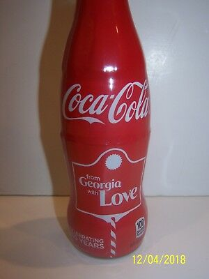 From Georgia With Love Coca Cola Bottle Celebrating 130 Years Limited 130 Made