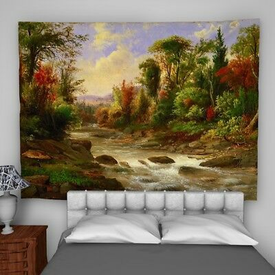 Robert Duncanson Wall Hanging Tapestry Psychedelic Bedroom Home Decoration