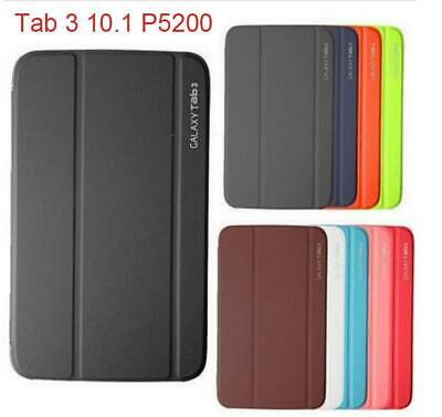 """Magnetic PU Leather BOOK Case Cover For Samsung Galaxy Tab 3 10.1""""  P5210 P5200"""