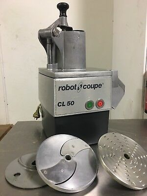 Robot Coupe CL50 GOURMET Vegetable Prep Machine Pizza Restaurant Equipment