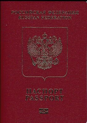 Russian Federation Biometric Passport Travel Document Id  2016 - 2026