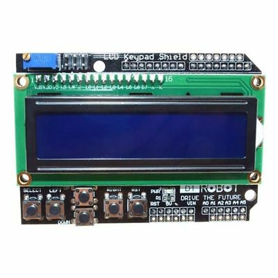 1x Expansion Board 1602 LCD Board Keypad Shield Backlight For Arduino Vintage