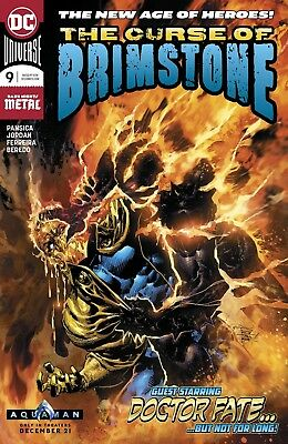 Curse Of Brimstone #9 Dc Comics Near Mint 12/5/18