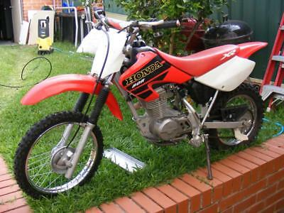 Honda XR80R 2001 dirt bike trail  80cc big wheel xr 80