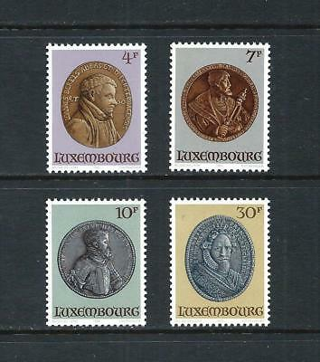 LUXEMBOURG _ 1985 'PORTRAIT MEDALS' SET of 4 _ mnh ____(560)