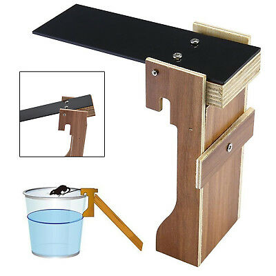 Walk The Plank Mouse Trap Mice Cage Rat Trap Auto Reset Rodent Bucket Boards UK