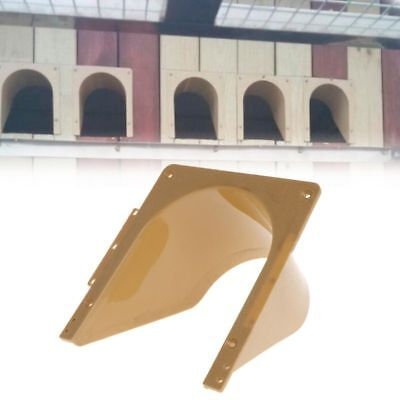 Pigeon Plastic Door Barrier Free Entrance Dove Bird Cage Supplies Products