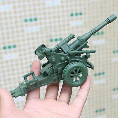 Military Model Toy Anti Aircraft Gun Cannon Soldier Action Accessories Grateful