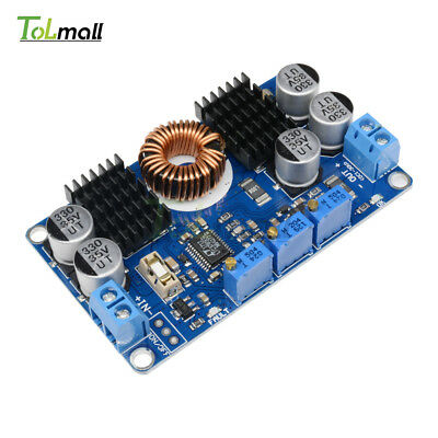 DC 5V-32V to 1V-30V 10A LTC3780 Automatic Step Up Down Regulator Charging Module