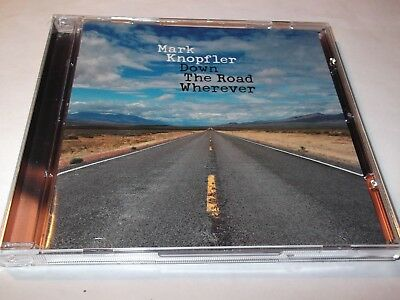 Mark Knopfler .down The Road Wherever.cd. 2018 .  16 Tracks.
