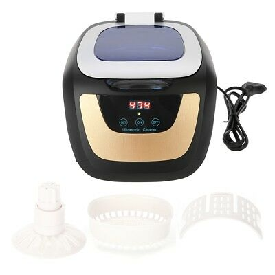 Professional Ultrasonic Cleaner Nail Tools Sterilizer Nail Art Tool Cleaner EU