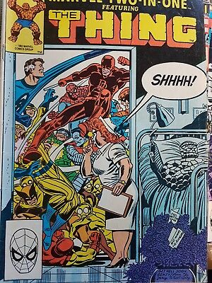 MARVEL COMIC GROUP MARVEL TWO IN ONE FEATURING TJE THING no96