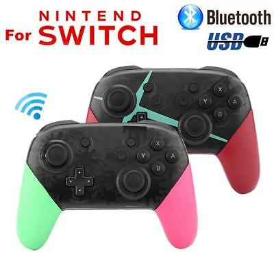 Wireless Bluetooth Pro Controller Gamepad Splatoon Joypad for Nintendo Switch