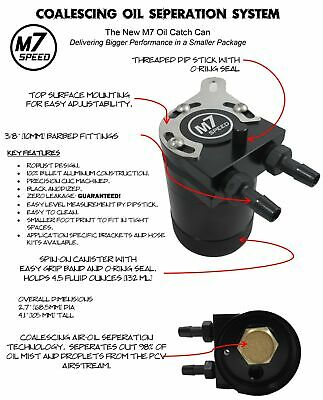 M7 Speed Oil Catch Can - MINI Cooper S R52 R53