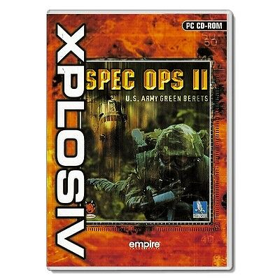 SPEC OPS II: U.S ARMY GREEN BERETS - Sequal to the Classic Shooter ( MINT, PC )