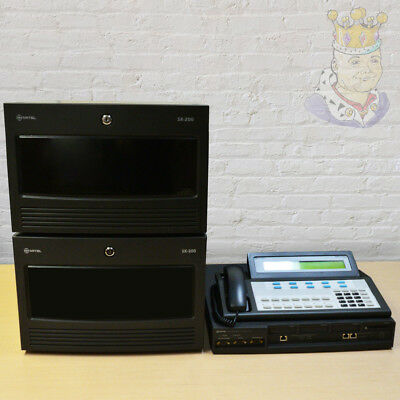 Fully Refurbished Mitel SX 200 MX ICP System 130 TDM 100 Voicemail Boxes w/ PMS