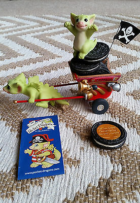 "Real Musgrave Pocket Dragon ""go Go Getaway Cart"" Beautiful Piece Mint Special Ed"