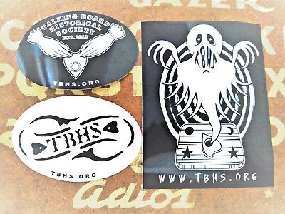 Talking Board Historical Society Ouija Sticker Lot Planchette Paranormal  Ghost