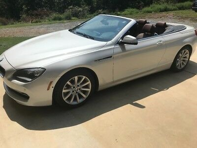 2014 BMW 6-Series  BMW 640i convertible 2014 low mileage