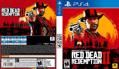 Red Dead Redemption 2 (Playstation 4 Ps4) Replacement Case, No Game