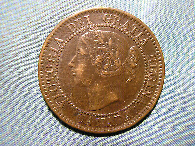 CANADA 1859 Large Cent - 1 penny coin higher grade