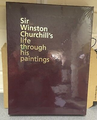 Sir Winston Churchill's life through his paintings, brand new in slipcase